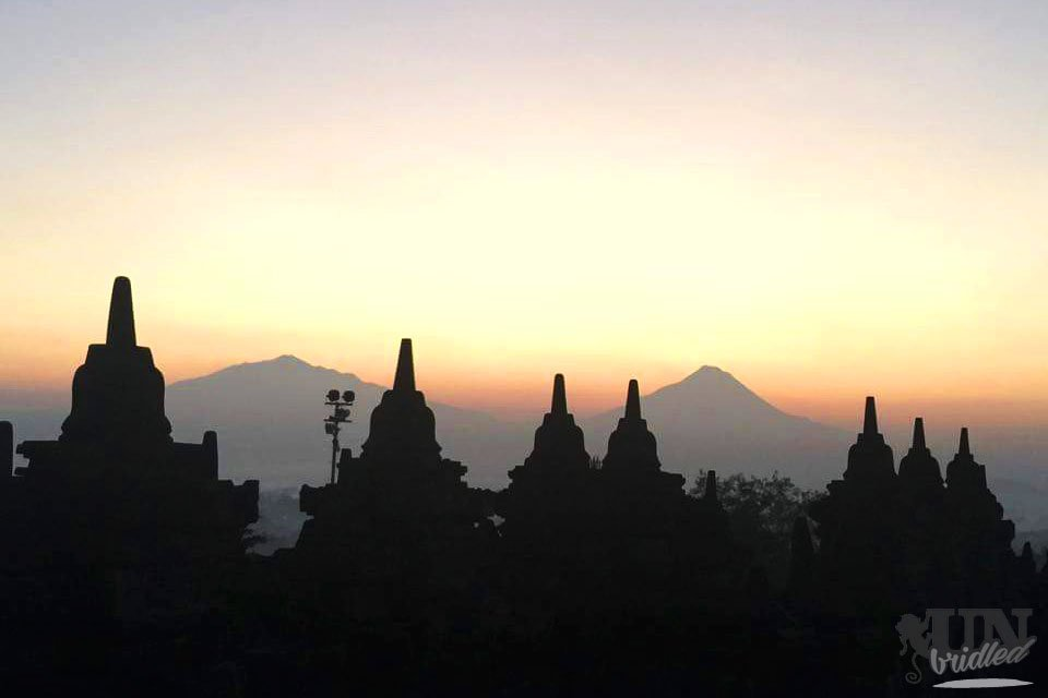 Sunrise at Borobudur temple - Not an insider tip for Yogyakarta