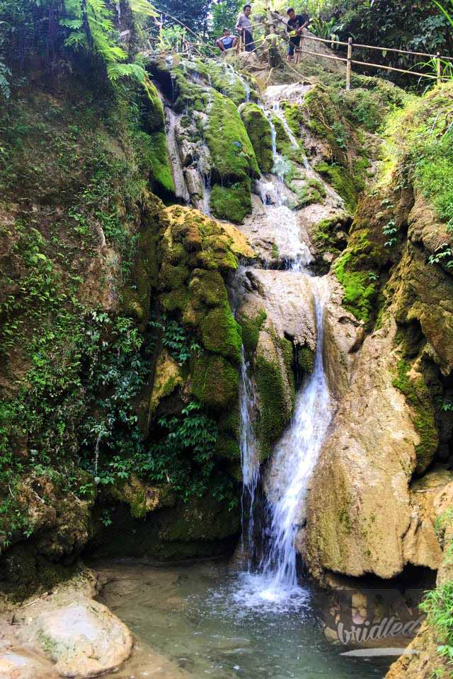 Waterfall as an insider tip for Yogyakarta
