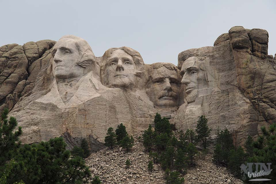 Mount Rushmore in Custer State Park