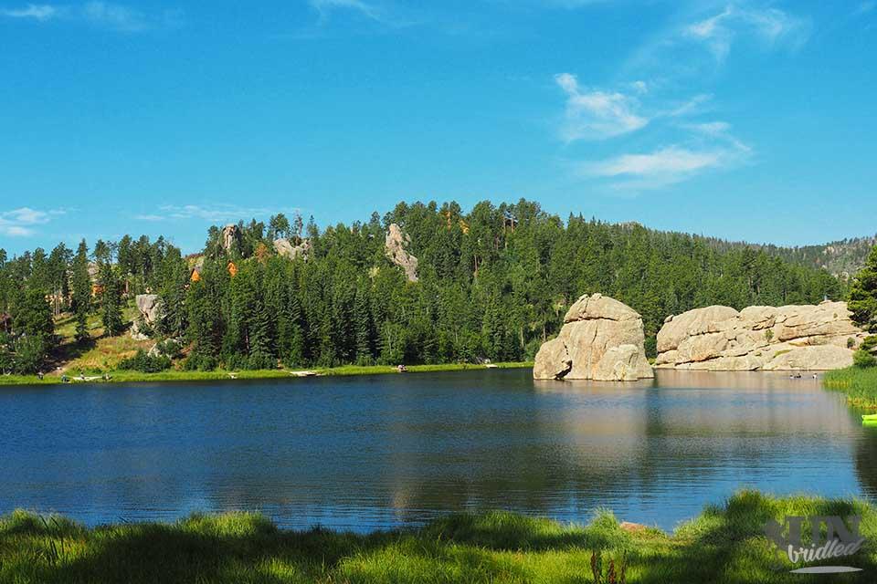 Sylvan Lake at Custer State Park