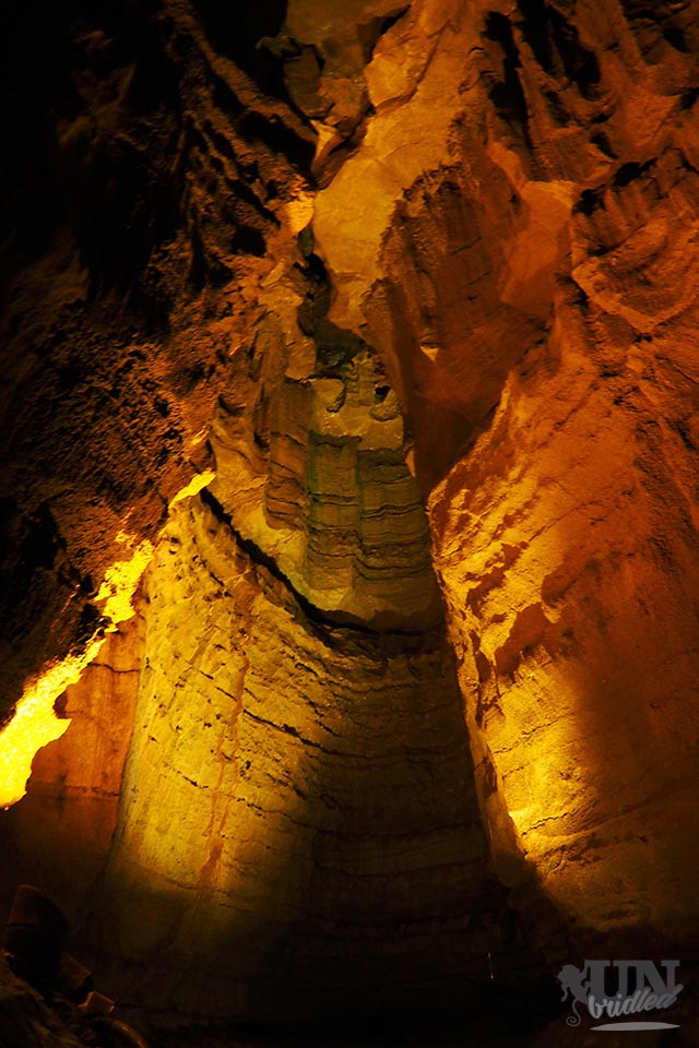 Inside the Mammoth Cave