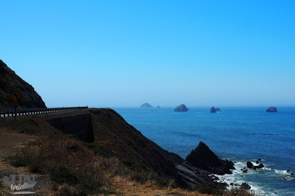 Coastal drive as a route for your next road trip in the U.S.