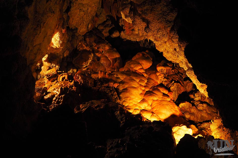 Treasure chamber in Jewel Cave National Monument