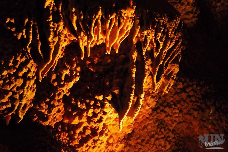 Stalagmites at Jewel Cave National Monument