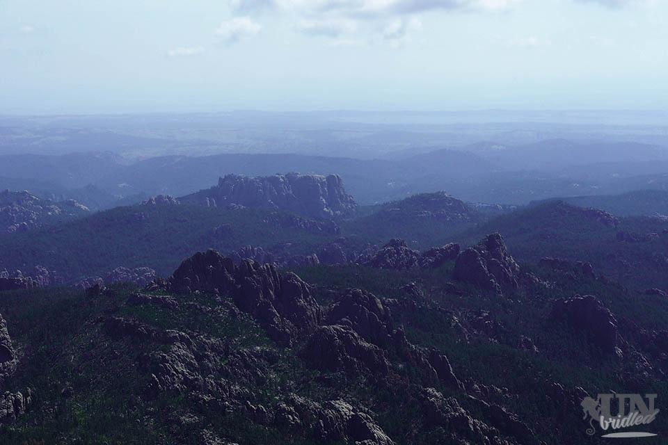 Overlooking the Black Hills at Harney Peak