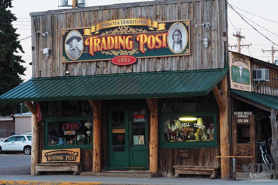 Western-style Trading Post in Custer