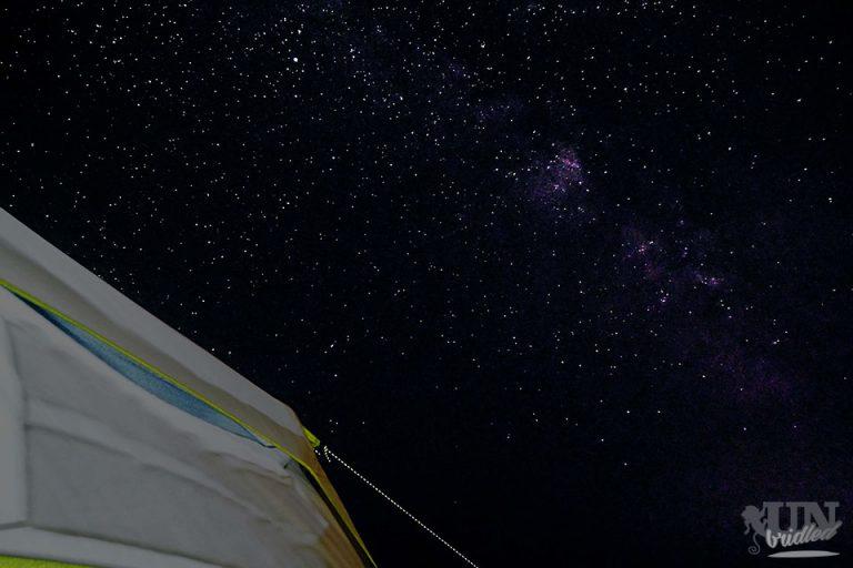Night sky at Yellowstone
