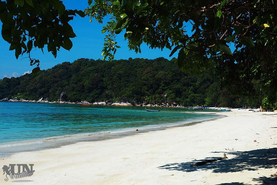 Tuluk Dalam Beach at Perhentian Island, Malaysia