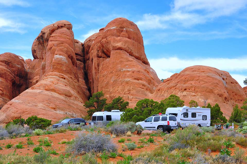 Devils Garden Campground offers breathtaking campsites in the U.S.