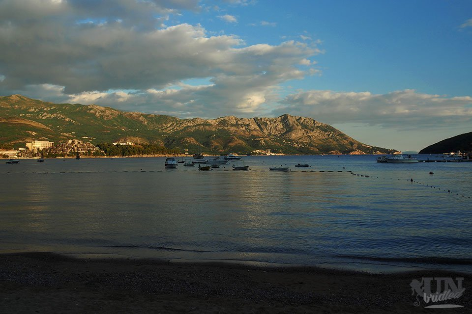 Gorgeous coastal views - The reward of the long bus ride from Belgrade to Budva