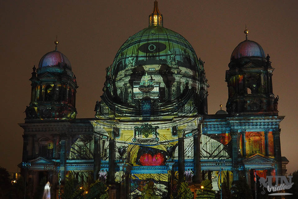 Berlin Dome at Festival of Lights 2016