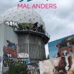 Foto von der alten Sternenwarte und dem Text: Berlin mal anders - Touren, die dir eine andere Seite von Berlin zeigen