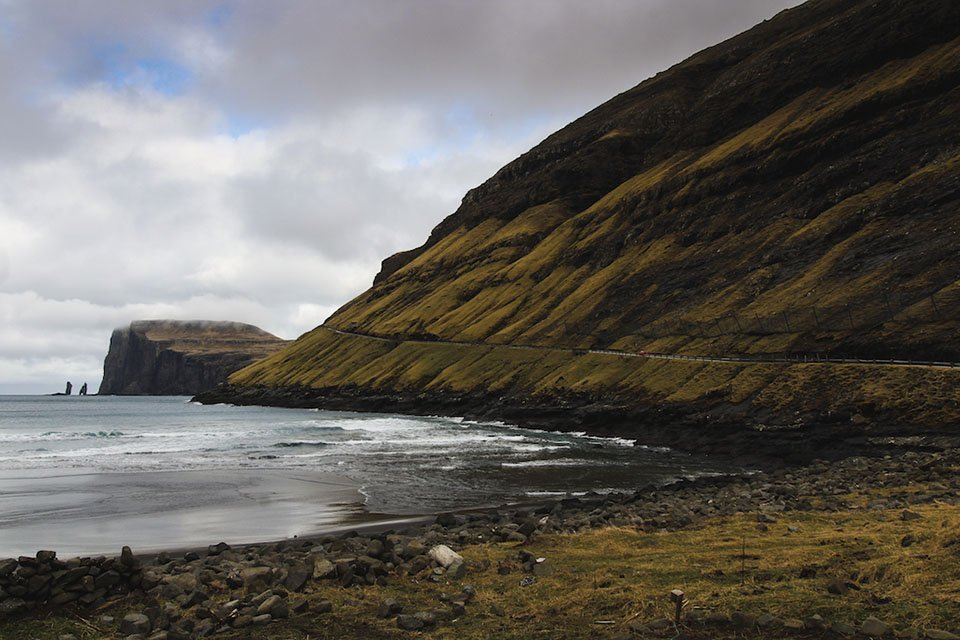 Coastal scene from the Faroe Islands as an adventure destination for your bucket list