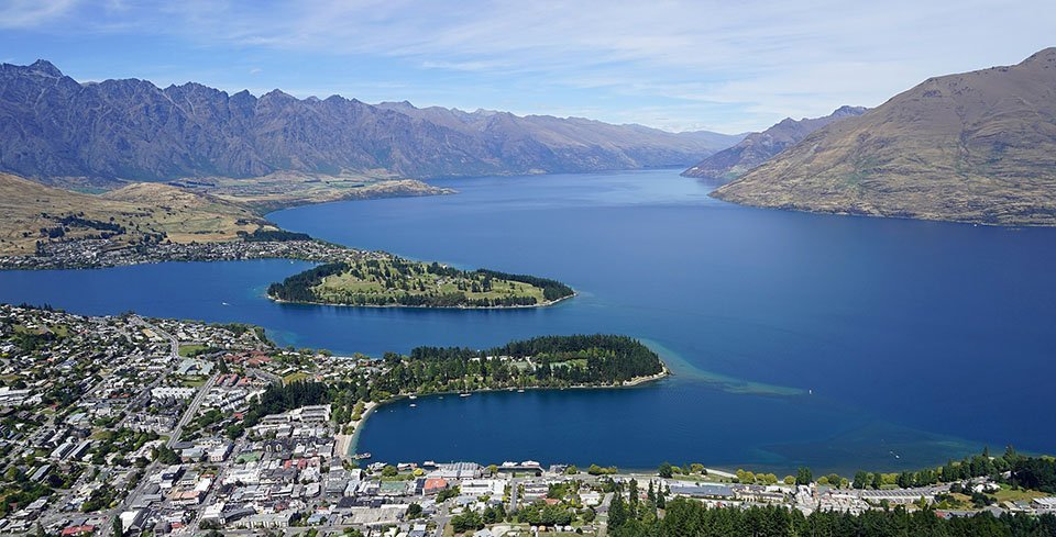 New Zealand - well-known for the variety of outdoor activities