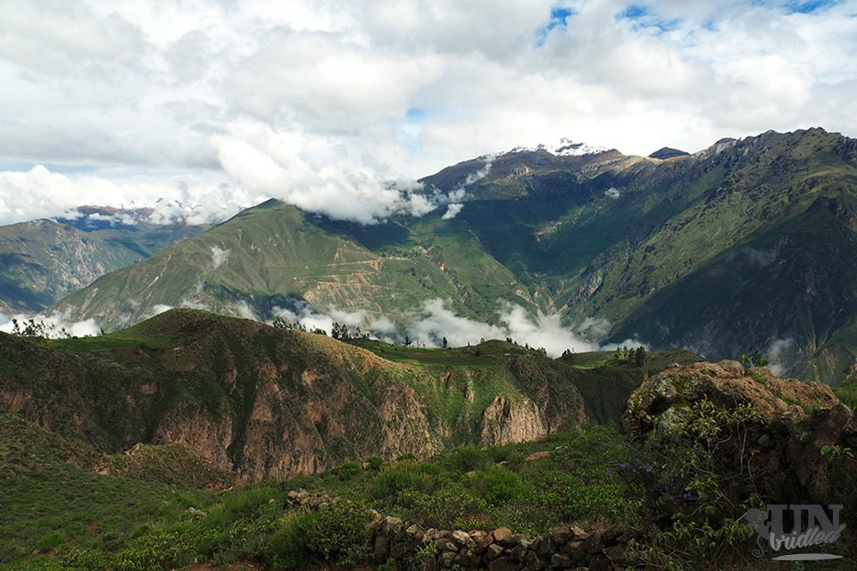 View of the mountains and clouds make Colca Canyon worth visiting