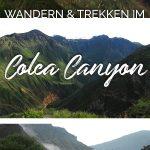 Bilder vom Colca Canyon in Peru und der Text: Wandern & Trekken im Colca Canyon