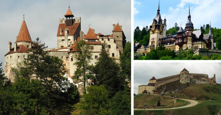 Rasnov, Bran and Peles - Three castles in Transylvania