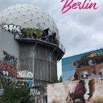 Streetart an der Berliner Sternenwarte mit dem Text: Alternative Stadtführungen in Berlin